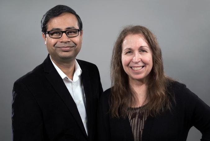 Vivek and me - 2020 photo